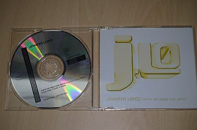 Jennifer Lopez ‎– Amor Se Paga Con Amor. SAMPCS 9627 CD-SINGLE PROMO