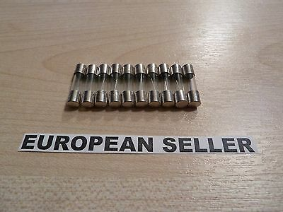 10pcs 13A  13 Amp F13A 250V glass fuse 5 x 20mm
