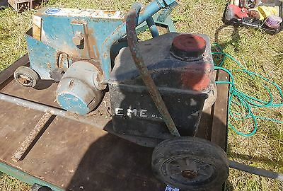 Thor Pneumatic Air Road Floor Saw concrete tarmac cutter. With lance