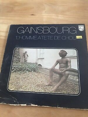 Serge Gainsbourg 33 Tours