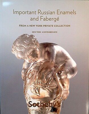 Sotheby's IMPORTANT RUSSIAN ENAMELS AND FABERGE Sale N08718 11/4/10 NEW YORK