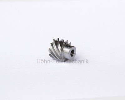 Spur Gear, Helical, 45° helical Teeth, Module 0,8, from Steel, Z10