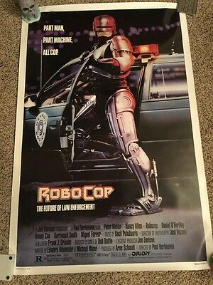 Robocop 1987 Nss 27X41 Rolled 1-Sheet Movie Poster