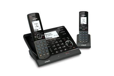 Vtech VS150 Twin Dect6.0 Cordless Phone With Vsmart Wire-Free Home Monitoring