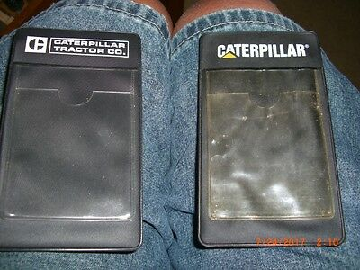 caterpillar Tractor Company Pocket Pencil holder- 2 different