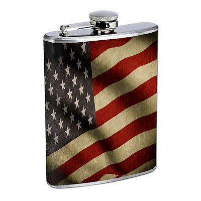 Arizona Flask D1 8oz Hip Stainless Steel State Flag Drinking Whiskey Liquor