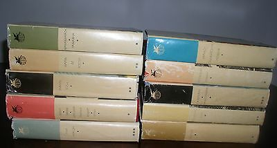 LOT OF 10 BOOKS   In Russian  MOSCOW 1967-76