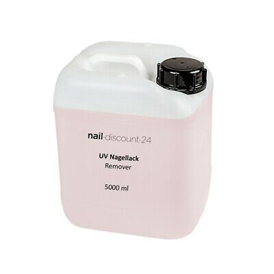 REMOVER 5 Liter für Shellac - UV Nagellack - Gel Polish - Soak Off Gel - 5000ml