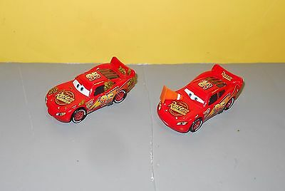 Disney Pixar Cars Diecast McQueen Pair - Cactus Patch & Traffic Safety Cone