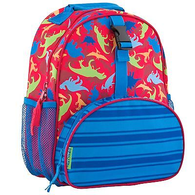 Stephen Joseph Boys All Over Print Mini Dinosaur Backpack - Preschool Bag