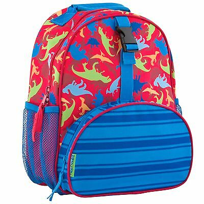 Stephen Joseph Girls All Over Print Mini Dinosaur Backpack - Preschool Bag