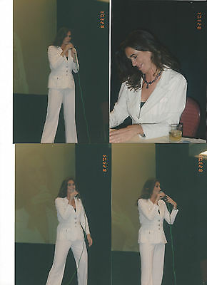 Lot Of 4 Claire Stansfield 2003 Convention Photos Alti Xena