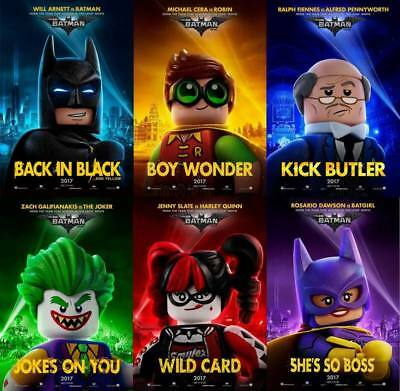 "11501 Hot Movie TV Shows - The LEGO Batman Movie 2017 8 14""x14"" Poster"