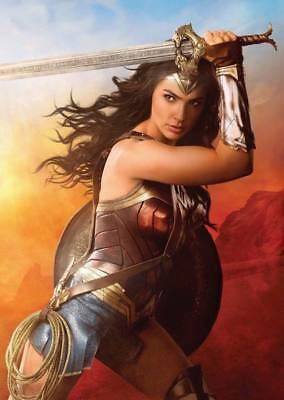 "11746 Hot Movie TV Shows - Wonder Woman 2017 5 14""x19"" Poster"
