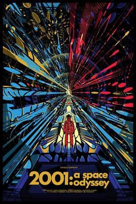 "11779 Hot Movie TV Shows - 2001 A Space Odyssey 12 14""x20"" Poster"