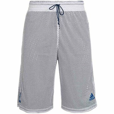 adidas Herren Basketball Wende Shorts Reversible Training S04529 wendbar Short