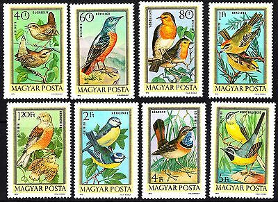 Hungary 1973 Birds Complete set of stamps, MNH