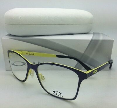 8debcaba01 New OAKLEY Eyeglasses VALIDATE OX5097-0153 53-16 Royal Purple on Yellow  Frames