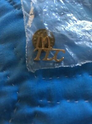 "Vintage McDonald Golden Pin - ""M"" TLC"