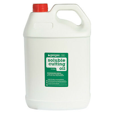 Geiger 5 Litre Soluble Cutting Oil SOLOIL5