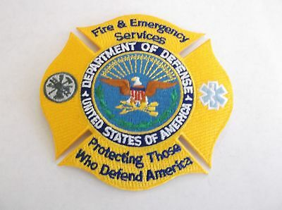 Department of Defense Fire Services patch