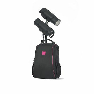 Bowens XMT 500 TTL Portable Flash TWO Head Monolight LOCATION KIT