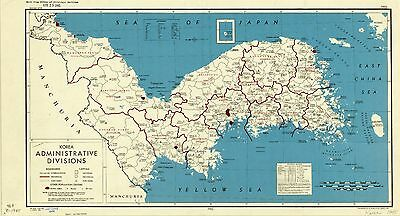 Indochina roads system 1945 cia declassified map world war 2 wwii korea administrative divisions 1945 cia declassified map world war 2 wwii gumiabroncs Image collections