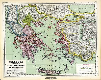1903 old antique map of ancient world empire greece greek turkey 1903 old antique map of ancient world empire greece greek turkey history atlas 5 gumiabroncs Images