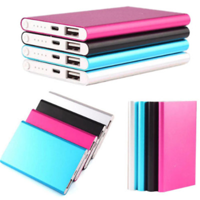 Ultrathin 5000mAh External Power Bank Backup Battery Charger Case for Cell Phone