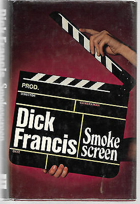 SMOKESCREEN by Dick Francis ~ 1972 1st Edition Hardcover with Dustjacket