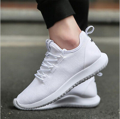 New Men's Shoes Ladies Pumps Trainers Lace Up Mesh Sports Running Casual Gym Uk