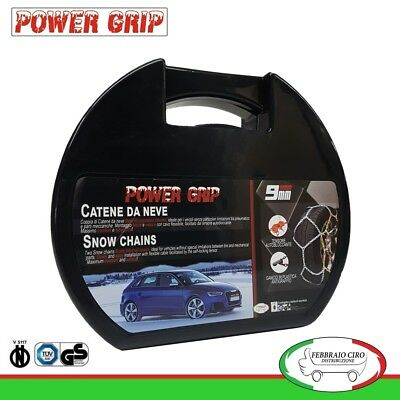 Catene da Neve Power Grip 9mm Gruppo 95 per pneumatici 225/45r17 BMW Serie 1 F20