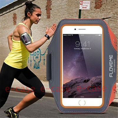 For iPhone 8/7/6+GYM Armband Exercise Sports Running Jogging Pocket Cover Holder