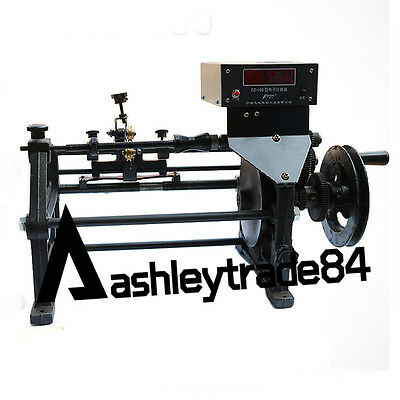 Semi-Automatic Coil Winding Machine Hand Coil Winder w/ Electronic Counting