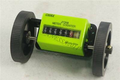 JM316 6-Digit  Mechanical Yard Counter Length Counter Rolling Wheel Decoder
