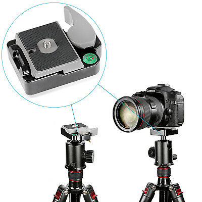 """Neewer Tripod Quick Release QR Plate with 1/4"""" to 3/8"""" Screw Adapter for Camera"""