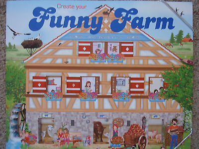 **new- Create Your 'funny Farm' Book!! Rr: $14.99 - Lots Of Fun!!