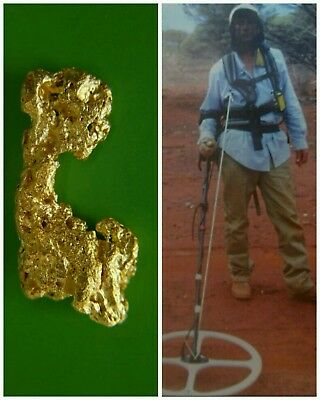 Gold Nugget  1.71 Grams  Was Found By Me In Western Australia