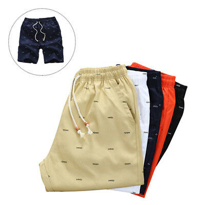 Cotton Mens Casual Shorts Summer Beach Shorts 1Pcs Joggers Shorts Men's Shorts
