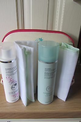 Liz Earle Cleanse & Polish 150Ml & Rose & Lavender 100M & 2 Muslin Cloths & Bag