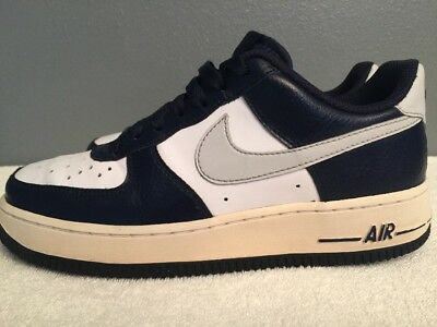 Nike Air Force 1 Youth Boys Training Basketball Shoes Size 6Y Navy White