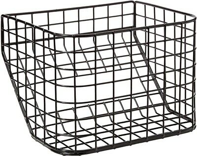 Aidapt Removeable Tri Walker Storage Basket Replacement Spare | Steel Black