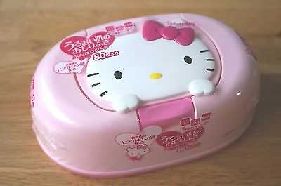 Adorable Hello Kitty Reusable Baby Wipe Case from Japan!