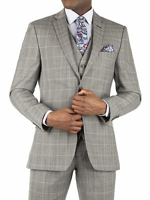 Suit Direct Racing Green Oatmeal Check Tailored Fit Jacket 0043305