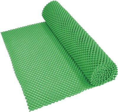Aidapt Non-Slip Waterproof PVC Fabric for Liner/Place Mat 150x30cm Roll | Green
