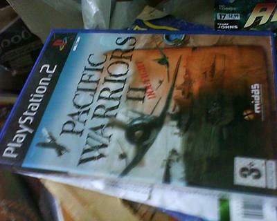 Playstation 2 Game Version Of Pacific Warriors 11 Dogfight Complete
