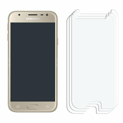 2 x Clear LCD Screen Protector Film Foil Saver For Samsung Galaxy J3 (2017)