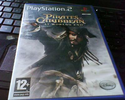 Playstation 2 Game Version Of Pirates Of The Caribbean At World's End Complete