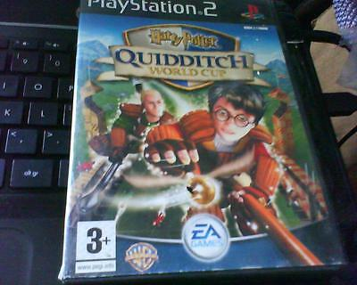 Playstation 2 Game Version Of Harry Potter Quidditch World Cup Complete