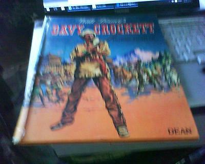 Walt Disney's Davy Crockett Indian Fighter Story Book By Dean No Year Rare